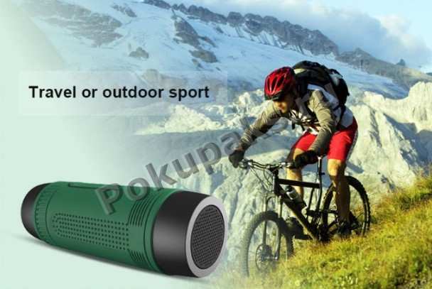 Bluetooth MP3 колонка с фонарем и POWERBANK Zealot S1